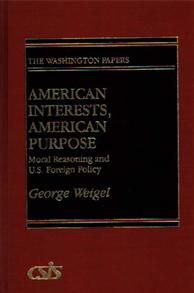 American Interests, American Purpose cover image