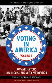 Cover image for Voting in America