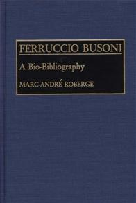 Cover image for Ferruccio Busoni