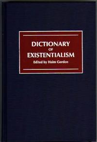Dictionary of Existentialism cover image