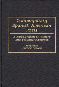 Contemporary Spanish American Poets cover image