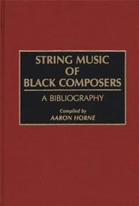 String Music of Black Composers cover image