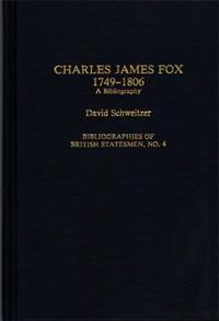 Charles James Fox, 1749-1806 cover image