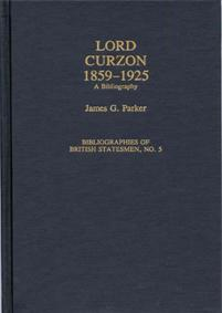 Lord Curzon, 1859-1925 cover image