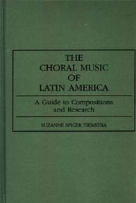 The Choral Music of Latin America cover image