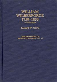 William Wilberforce, 1759-1833 cover image