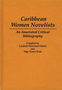 Cover image for Caribbean Women Novelists