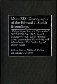 More EJS: Discography of the Edward J. Smith Recordings cover image