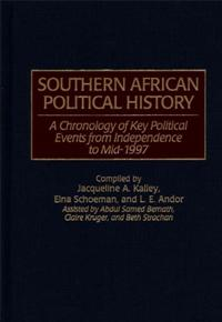 Southern African Political History cover image