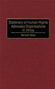 Dictionary of Human Rights Advocacy Organizations in Africa cover image