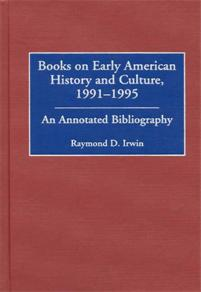 Books on Early American History and Culture, 1991-1995 cover image