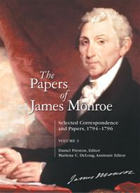 Cover image for The Papers of James Monroe