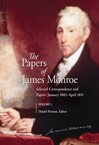 Cover image for The Papers of James Monroe, Volume 5
