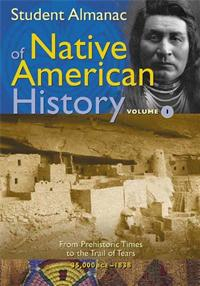 Student Almanac of Native American History cover image