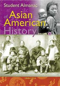 Student Almanac of Asian American History cover image