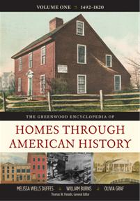 The Greenwood Encyclopedia of Homes through American History cover image