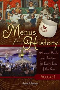 Cover image for Menus from History