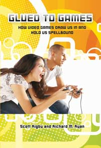 Cover image for Glued to Games