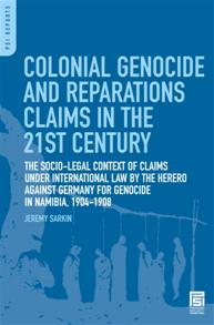 Colonial Genocide and Reparations Claims in the 21st Century cover image