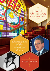 Jewish American Chronology cover image