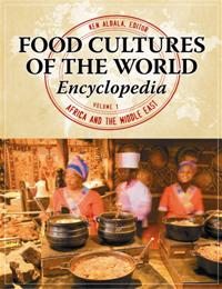 Food Cultures of the World Encyclopedia cover image