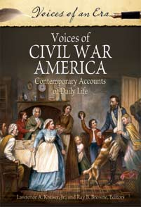 Voices of Civil War America cover image