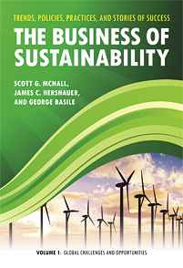 Cover image for The Business of Sustainability