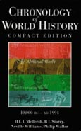 Cover image for Chronology of World History