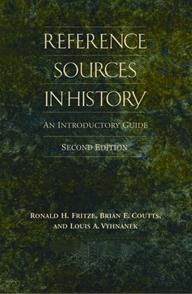 Reference Sources in History cover image
