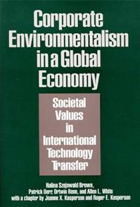 Cover image for Corporate Environmentalism in a Global Economy