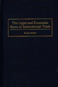 The Legal and Economic Basis of International Trade cover image