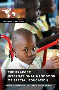 The Praeger International Handbook of Special Education cover image