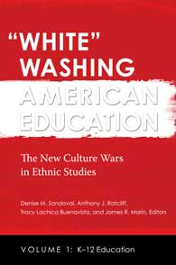 "Cover image for ""White"" Washing American Education"