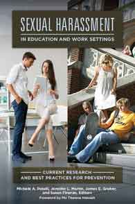 Sexual Harassment in Education and Work Settings cover image