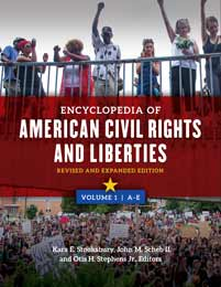 Encyclopedia of American Civil Rights and Liberties cover image