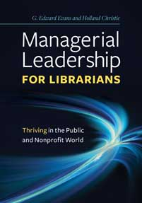 Managerial Leadership for Librarians cover image