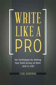 Write Like a Pro cover image
