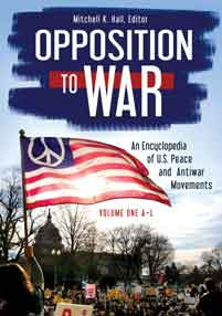 Cover image for Opposition to War