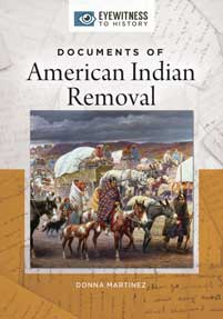 Documents of American Indian Removal cover image