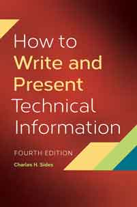 How to Write and Present Technical Information, 4th Edition cover image