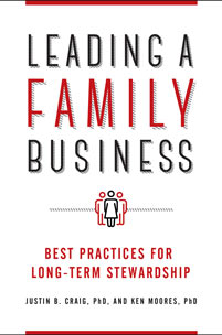 Leading a Family Business cover image