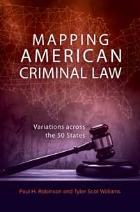 Cover image for Mapping American Criminal Law