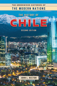 The History of Chile, 2nd Edition cover image