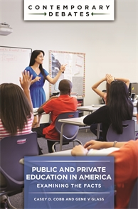 Cover image for Public and Private Education in America