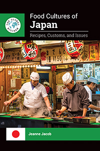 Cover image for Food Cultures of Japan