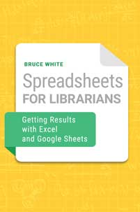 Cover image for Spreadsheets for Librarians