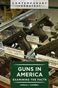 Cover image for Guns in America