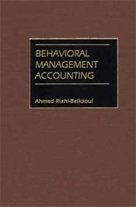 Behavioral Management Accounting cover image