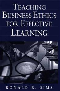 Teaching Business Ethics for Effective Learning cover image