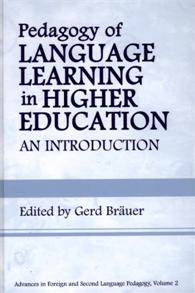 Cover image for Pedagogy of Language Learning in Higher Education